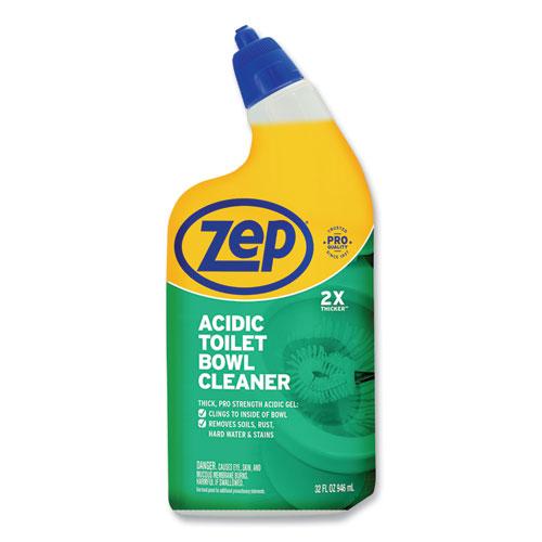 Acidic Toilet Bowl Cleaner, Mint, 32 oz Bottle