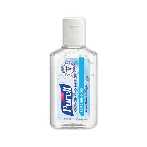 Advanced Hand Sanitizer, 1 oz Flip Cap Bottle, Clean, 72/Carton