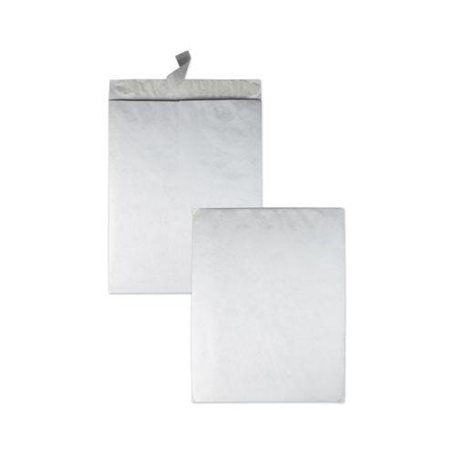 Catalog Mailers Made of DuPont Tyvek, Redi-Strip Closure, 18 x 23, White, 25/Box