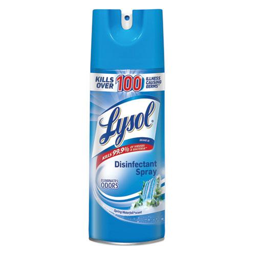 Disinfectant Spray, Spring Waterfall Scent, 12.5 oz Aerosol Spray