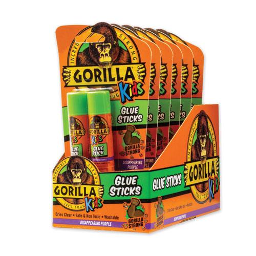 School Glue Sticks, 0.21 oz/Stick, Dries Clear, 12 Sticks/Box