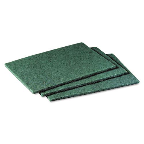 Scotch-Brite™ PROFESSIONAL Commercial Scouring Pad, 6 x 9, 60/Carton