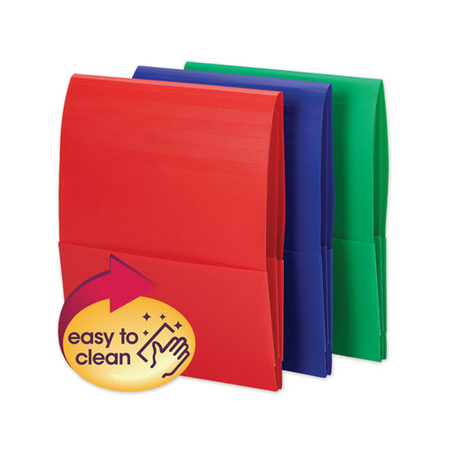 Stackit Poly Organizer, Assorted, 6/Pack