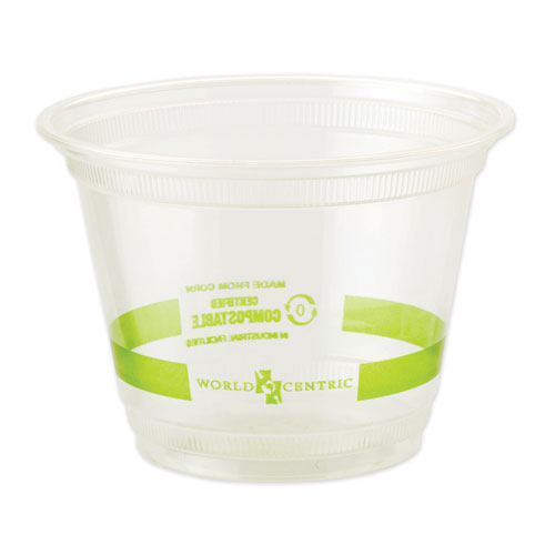 Clear Cold Cups, 9 oz, Clear, 1,000/Carton
