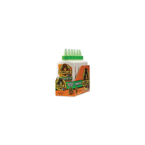 School Glue Liquid, 4 oz, Dries Clear, 6/Pack