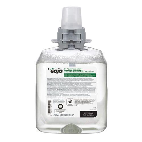 E1 Foam Handwash, 1250 mL, 4/Carton