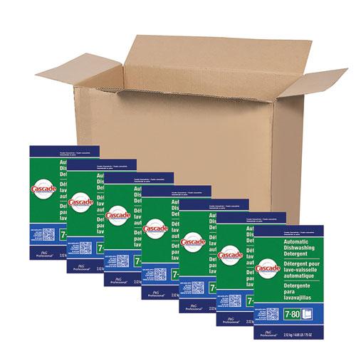 Automatic Dishwasher Powder, Fresh Scent, 75 oz Box, 7/Carton