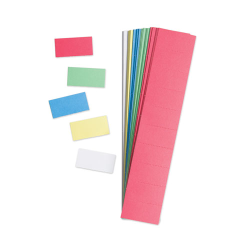 U Brands Data Card Replacement 2 X 1 Assorted Colors 1000 Pack Bluffs Facility Solutions