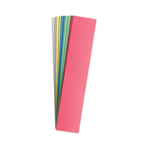 Data Card Replacement, 2 x 1, Assorted Colors, 1000/Pack
