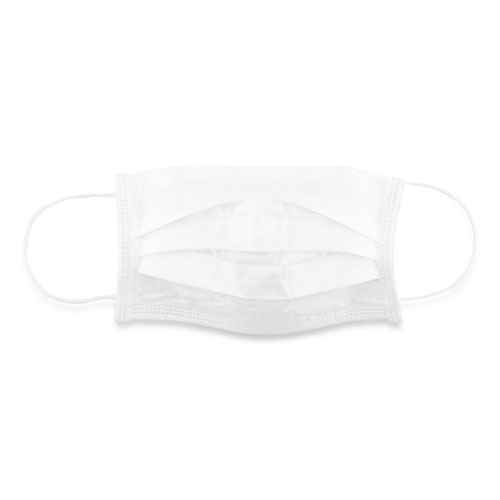 Face Mask, White, 2,000/Carton
