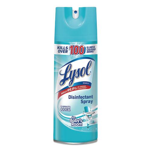 Disinfectant Spray, Babys Room, 12.5 oz Aerosol, 12/Carton