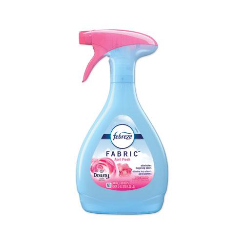 FABRIC Refresher/Odor Eliminator, Downy April Fresh, 27 oz Spray Bottle, 4/Carton