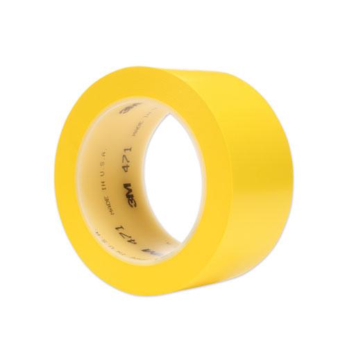 Vinyl Floor Marking Tape 471, 2 x 36 yds, Yellow