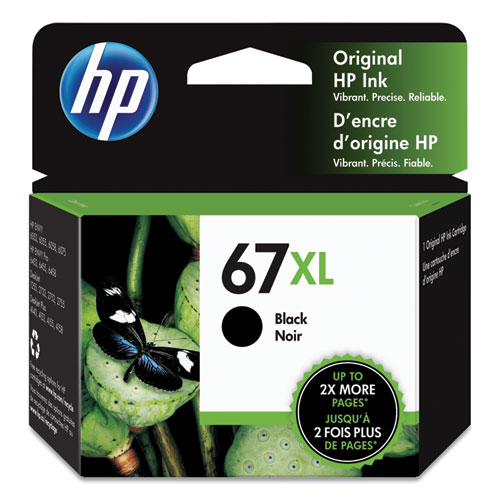 HP 67XL, (3YM57AN) Black Original Ink Cartridge