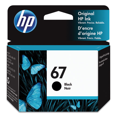 HP 67, (3YM56AN) Black Original Ink Cartridge