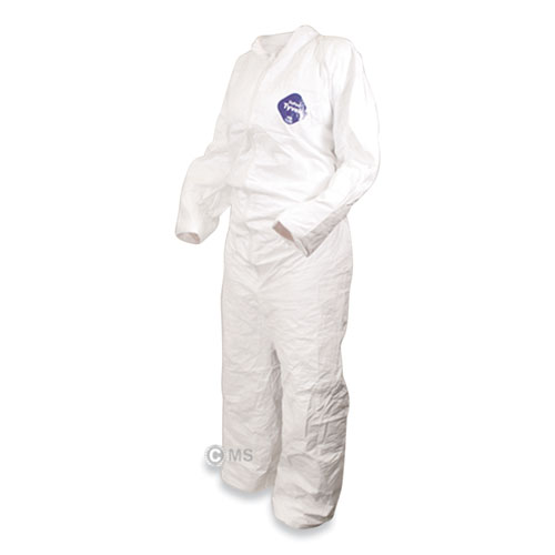 High Performance Coverall, X-Large, White, 25/Carton