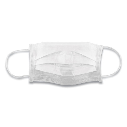 MM005 Disposable General Use Mask, Blue, 2,000/Carton