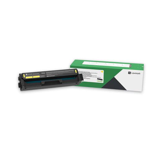 C341XY0 Extra High-Yield Return Program Toner Cartridge, 4,500 Page-Yield, Yellow