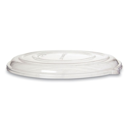 100 Recycled Content Pizza Tray Lids, 16 x 16 x 0.2, Clear, 50/Carton