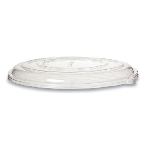 100 Recycled Content Pizza Tray Lids, 14 x 14 x 0.2, Clear, 50/Carton