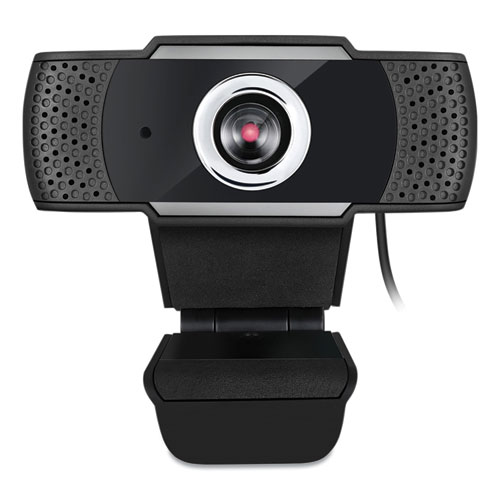 CyberTrack H4 1080P HD USB Manual Focus Webcam with Microphone, 1920 Pixels x 1080 Pixels, 2.1 Mpixels, Black