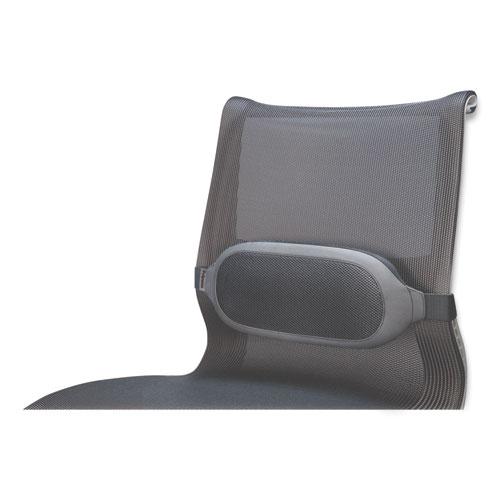 I-Spire Series Lumbar Cushion, 14w x 6d x 3h, Gray