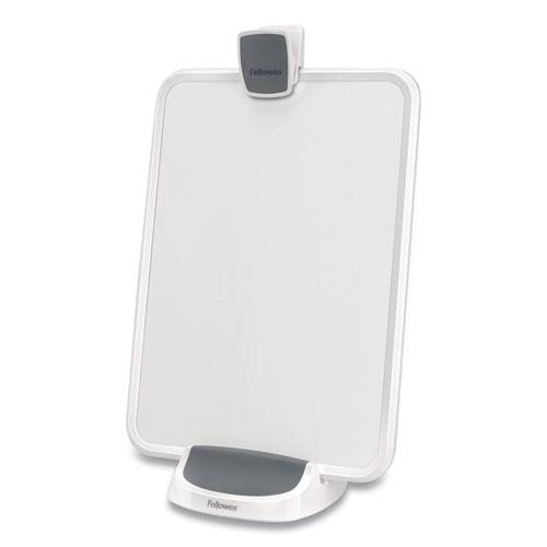 I-Spire Series Document Lift, ABS Plastic, 100 Sheet Capacity, White/Gray