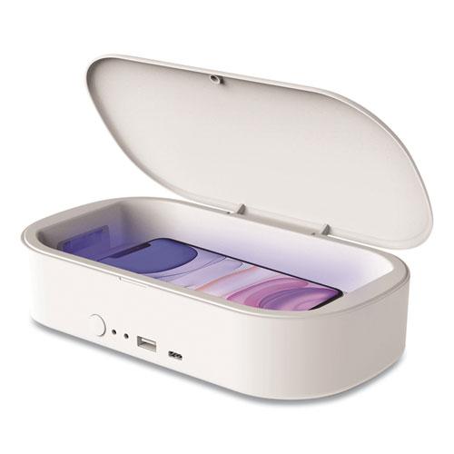 Portable UV Sterilizer for Mobile Phones, White