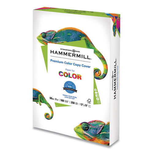 Premium Color Copy Cover, 100 Bright, 60lb, 17 x 11, 250/Pack