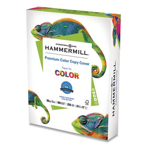 Premium Color Copy Cover, 100 Bright, 60lb, 8.5 x 11, 250/Pack
