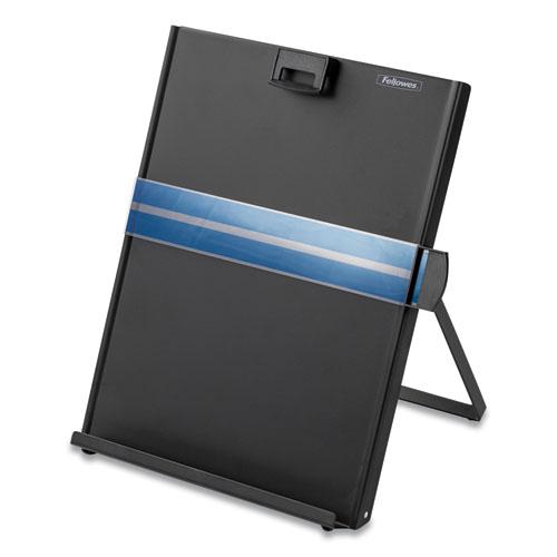 Metal Copyholder, Steel, 200 Sheet Capacity, Black