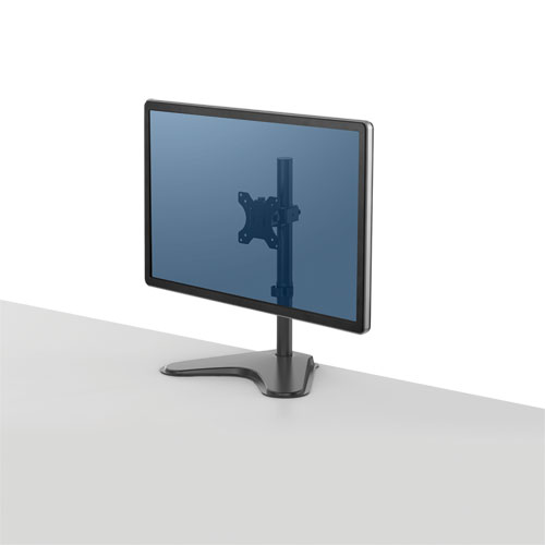 Professional Series Single Freestanding Monitor Arm, up to 32/17 lbs