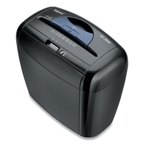 Powershred P-35C Cross-Cut Shredder, 5 Manual Sheet Capacity