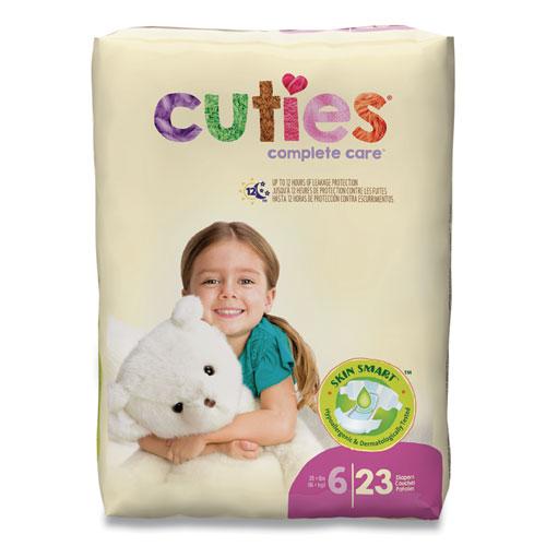 Premium Jumbo Diapers, Size 6, 35 lbs and Up, 92/Carton