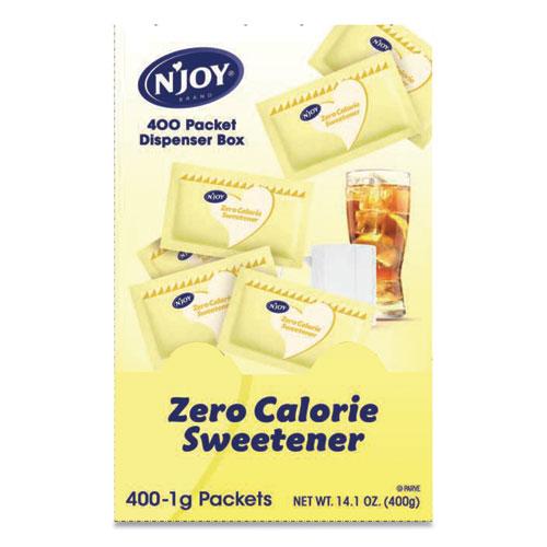 Yellow Sucralose Zero Calorie Sweetener Packets, 0.04 oz Packet, 400 Packets/Box