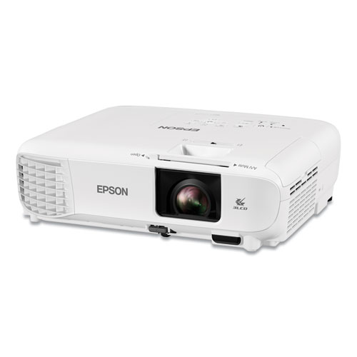 PowerLite 119W 3LCD WXGA Classroom Projector, 4,000 lm, 1280 x 800 Pixels, 1.2x Zoom