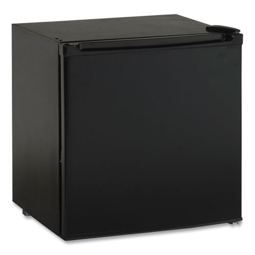 1.7 Cubic Ft. Compact Refrigerator with Chiller Compartment, Black