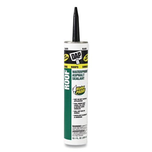 Waterproof Asphalt Sealant, 10.1 oz Cartridge, Black