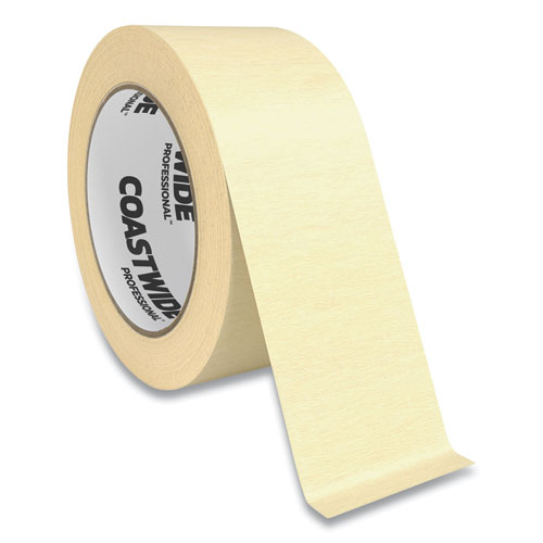 """Coastwide Professional™ Industrial Masking Tape, 2"""" x 60 yds, Beige"""