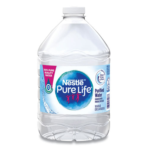 Pure Life Purified Water, 101.4 oz Bottle, 6/Pack