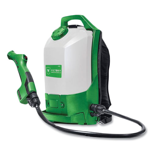 Victory® Innovations Co Professional Cordless Electrostatic Backpack Sprayer, Green
