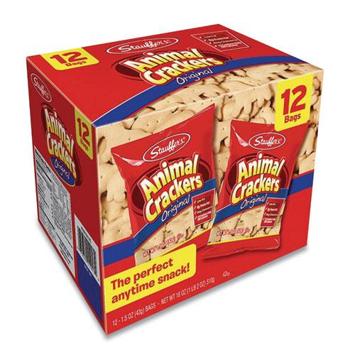Stauffer's® Animal Crackers, 1.5 oz Bag, 12/Box