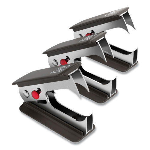 Claw Staple Remover, Black, 3/Pack