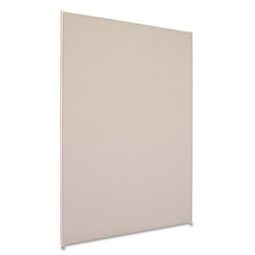 VersE Office Panel, 48w x 72h, Gray | by Plexsupply