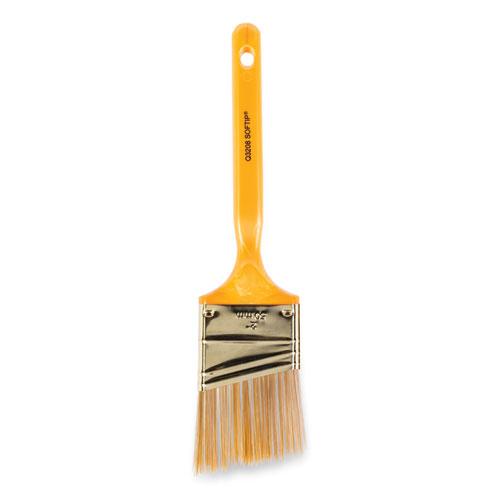 Softip Paint Brush, 2 Angled, Plastic Kaiser Handle
