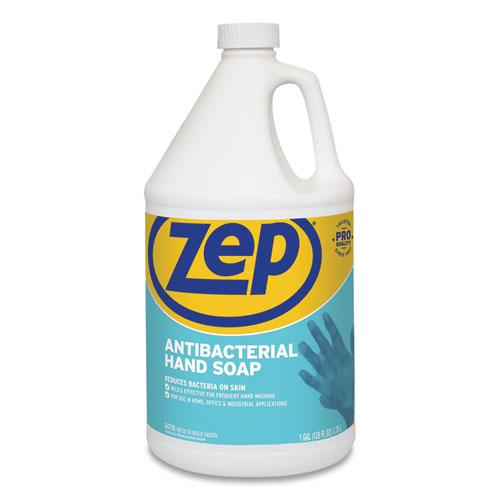 Antibacterial Hand Soap, Fragrance-Free, 1 gal Bottle, 4/Carton