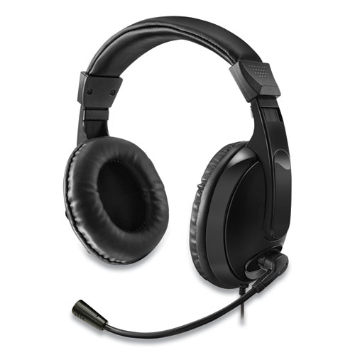 Xtream H5 Multimedia Headset with Mic, Binaural Over the Head, Black