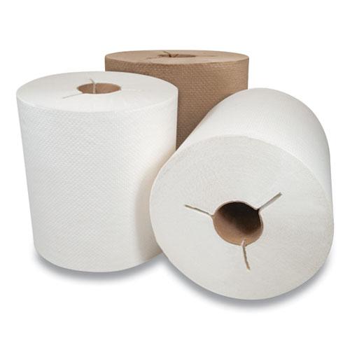 "Morcon Tissue Morsoft Controlled Towels, I-Notch, 7.5"" x 800 ft, Kraft, 6/Carton"