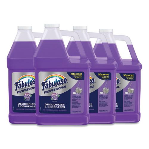 Fabuloso® All-Purpose Cleaner, Lavender Scent, 1 gal Bottle, 4/Carton