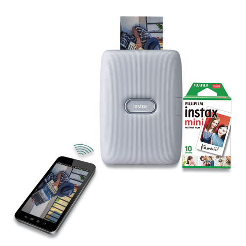 instax mini Link Smartphone Printer, Ash White